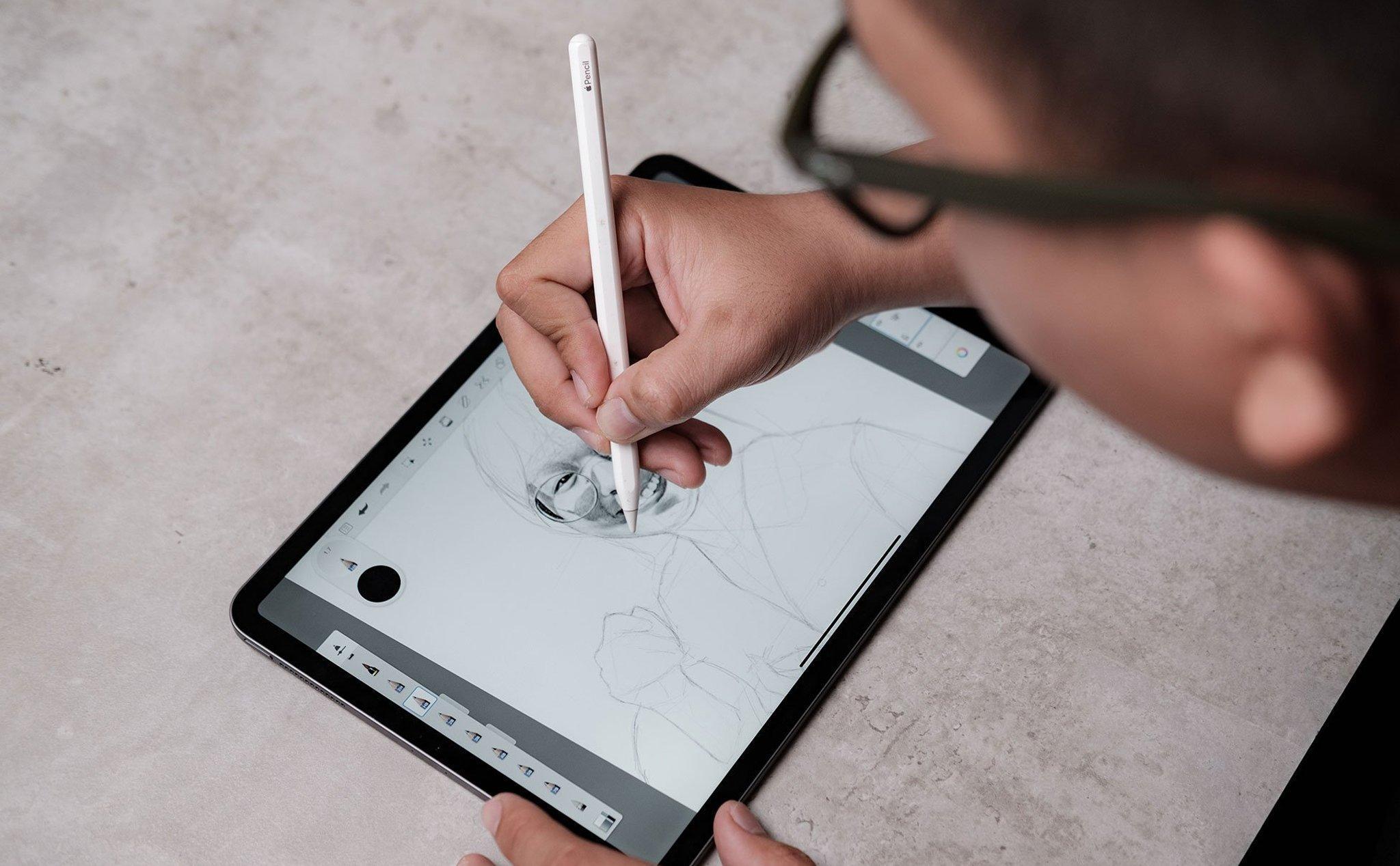 Với mình, Apple Pencil là cây bút tuyệt vời nhất để vẽ trên iPad