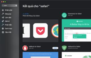 Safari - Appstore