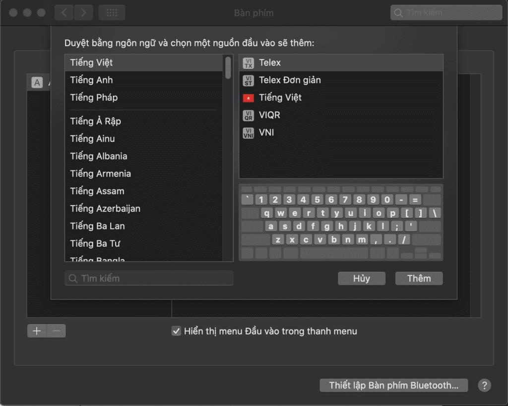 Khắc phục lỗi mất chữ, nhảy chữ... khi gõ tiếng Việt trên macOS