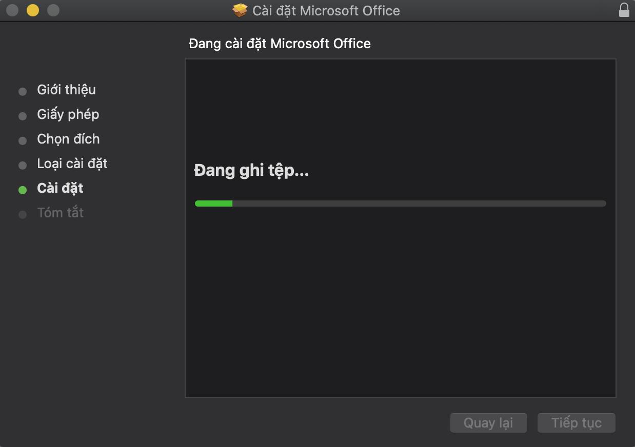 Hướng dẫn cài đặt Office trên các thiết bị MacBook