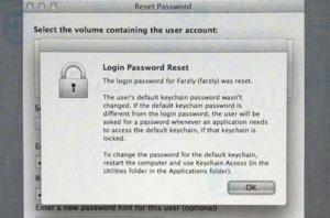 Reset password qua Recovery mode