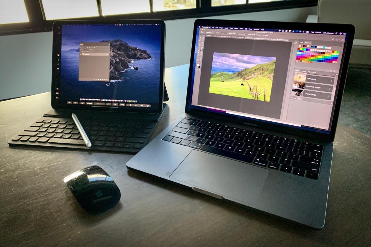Sử dụng Sidecar để biến iPad thành màn hình phụ cho MacBook