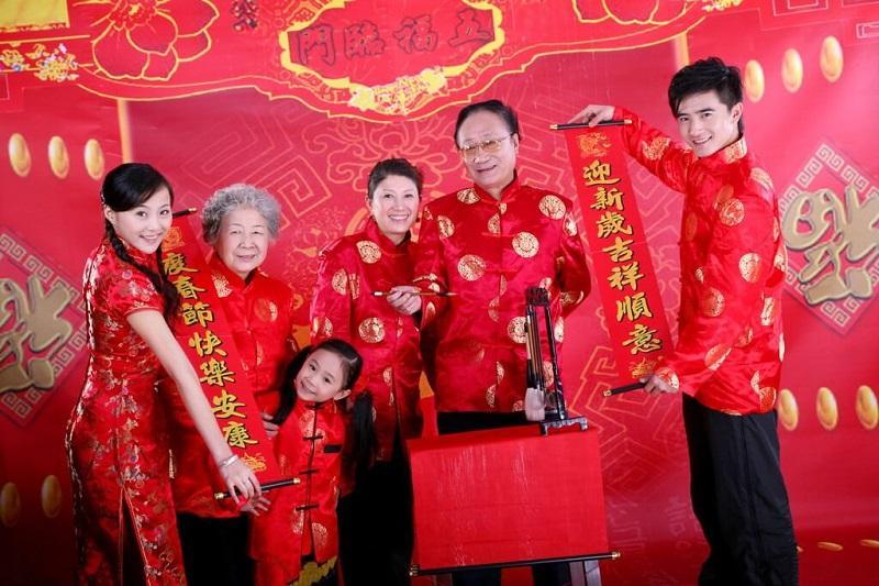 Ảnh trang phục Tết cổ truyền Trung Hoa