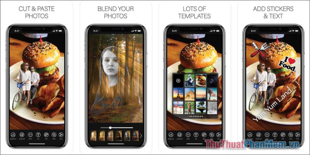 Cut & Paste Photos (iOS)