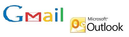 Gmail và Microsoft Outlook