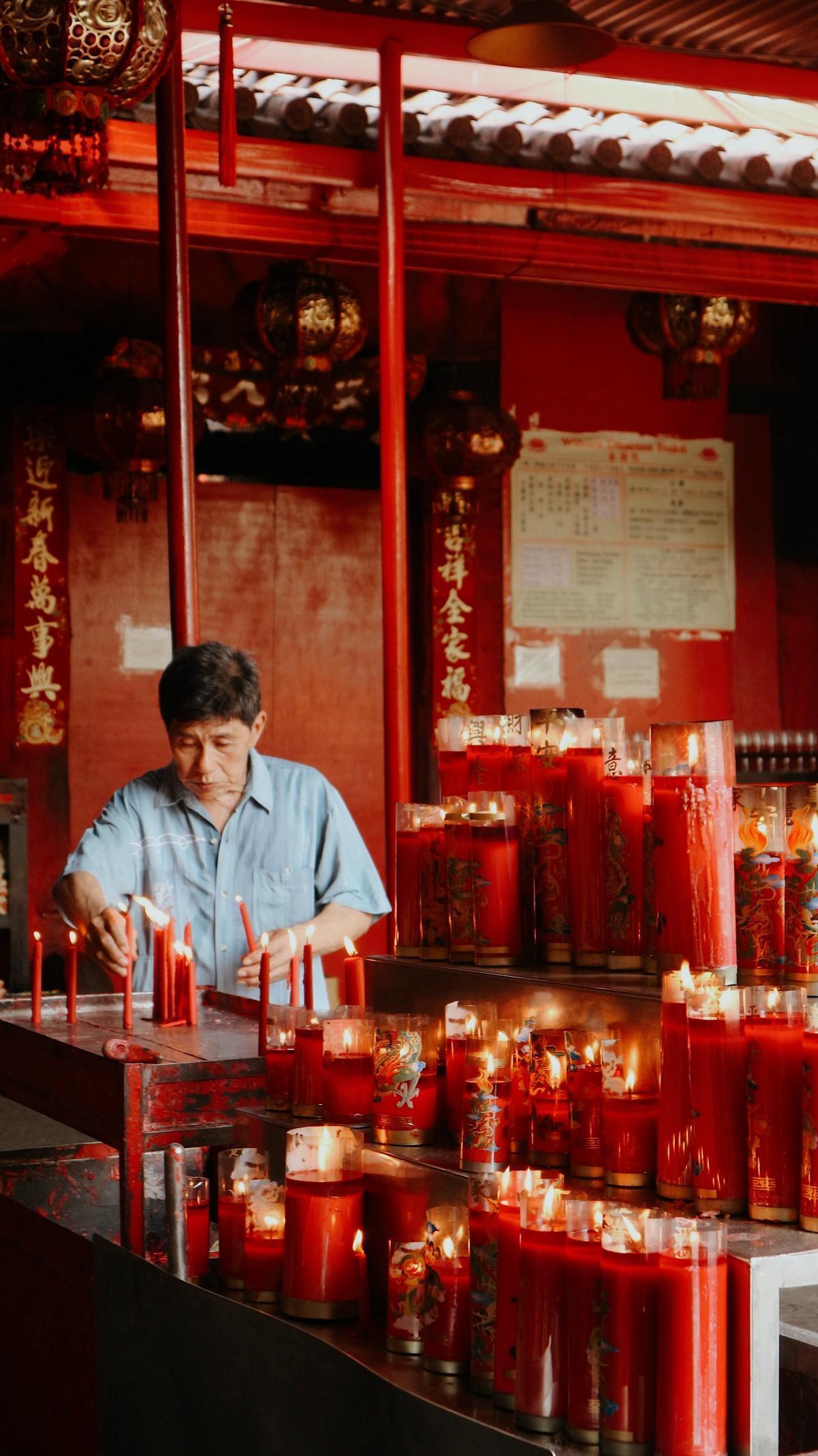 Hình ảnh đẹp trong những ngày đầu năm mới của người Trung Quốc