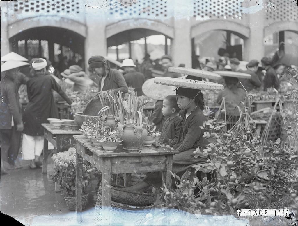 Hình ảnh lịch sử quý giá về Tết