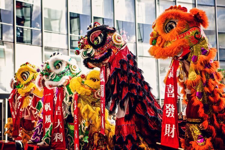 Hình ảnh năm mới ở Trung Quốc