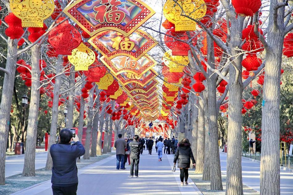 Hình ảnh người dân Trung Quốc trước thềm năm mới