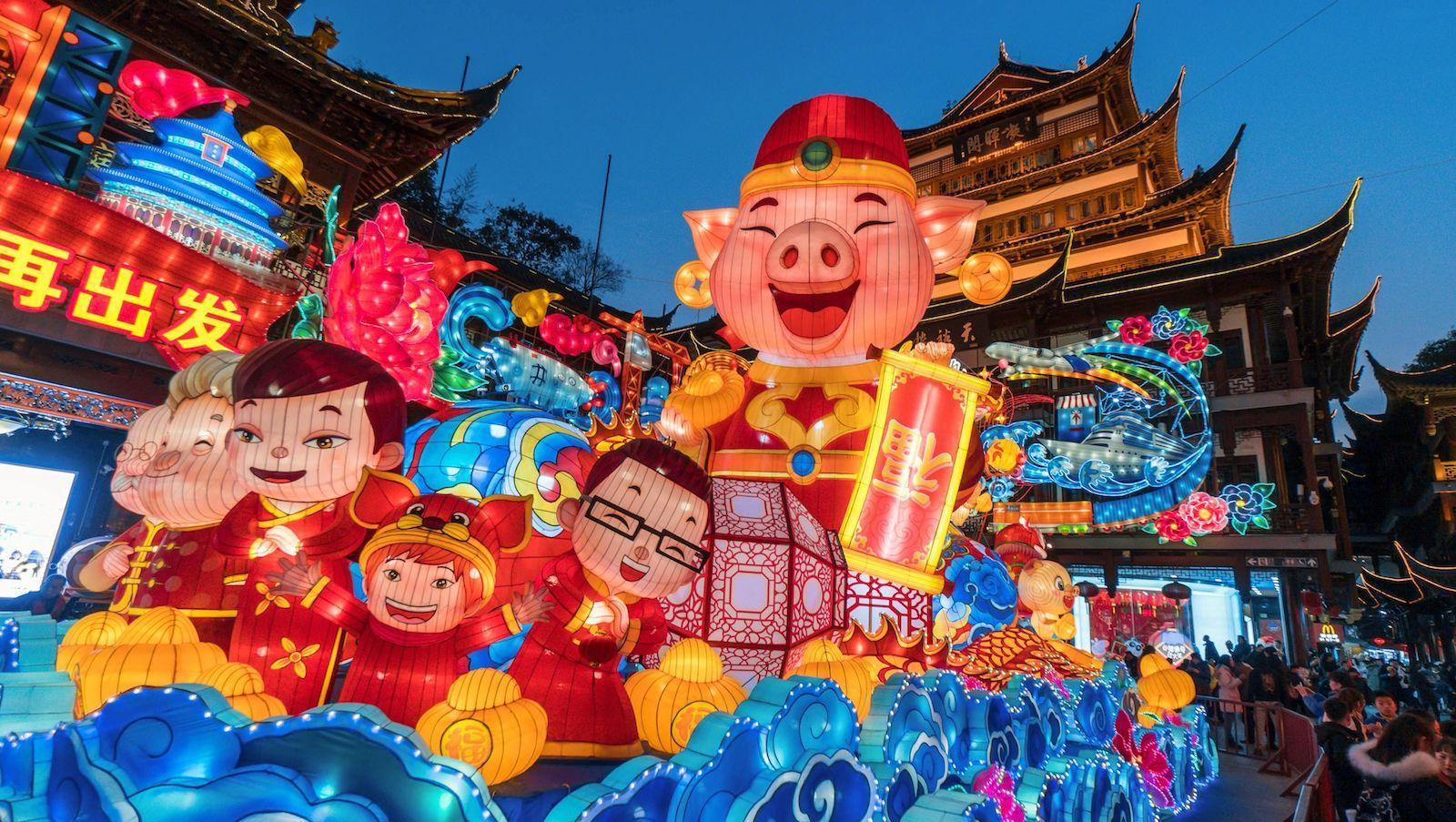 Hình ảnh tết Trung Quốc đẹp nhất