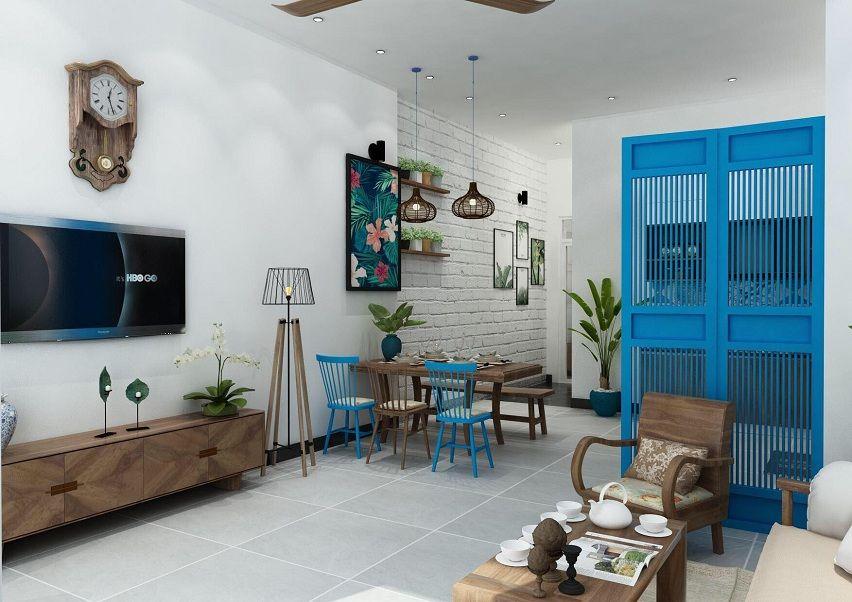 Hình ảnh trang trí phòng khách căn hộ nhỏ
