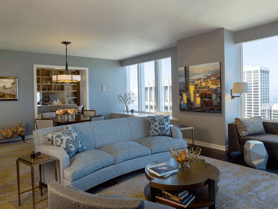 Hình ảnh trang trí phòng khách đơn giản
