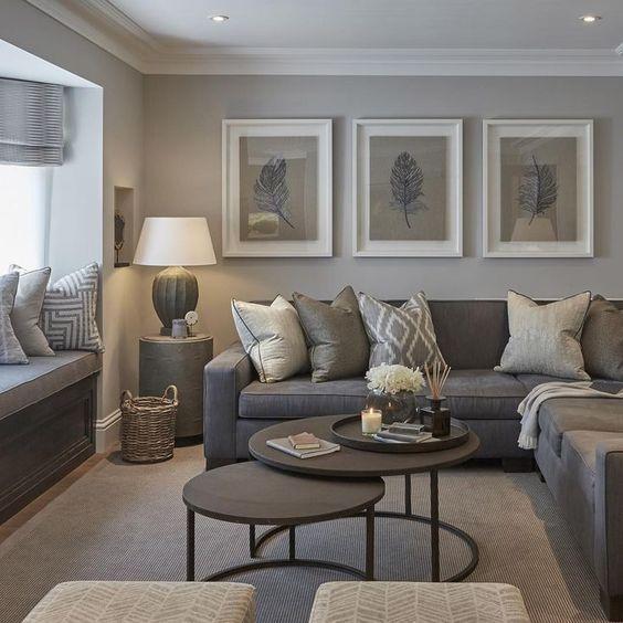 Hình ảnh trang trí phòng khách giản dị