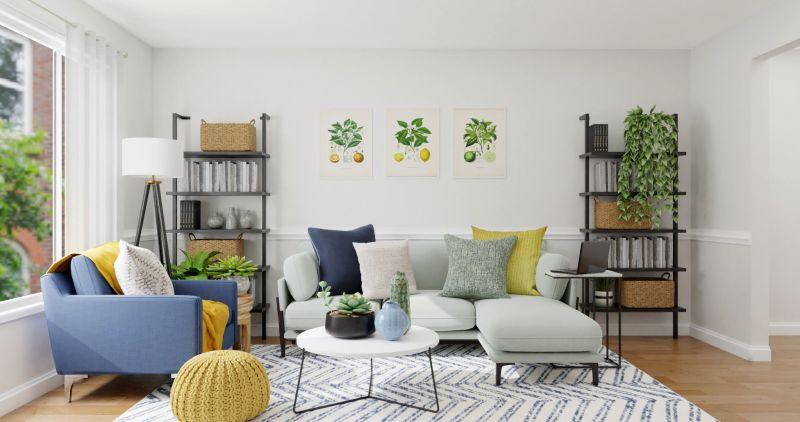 Hình ảnh trang trí phòng khách nhỏ