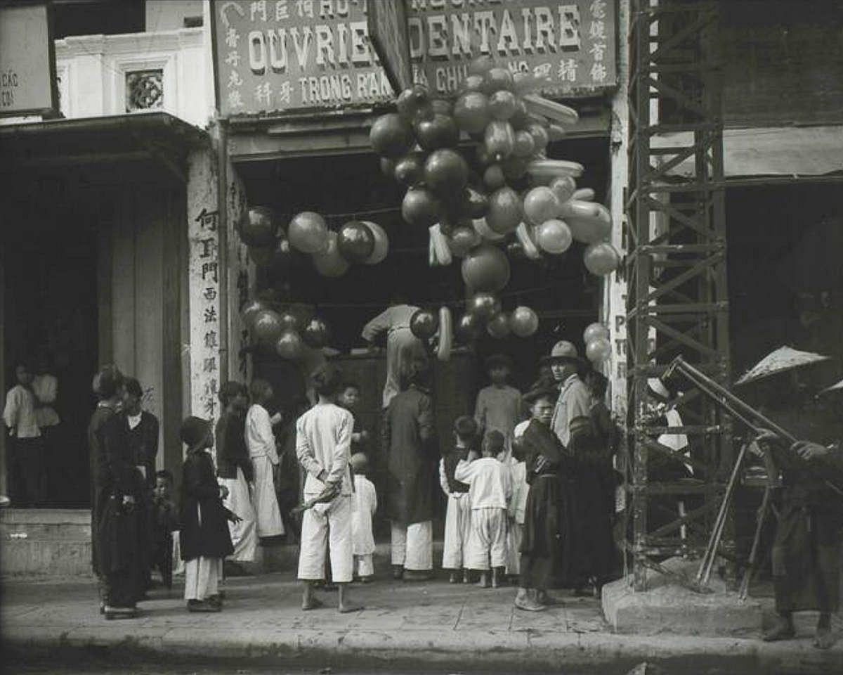 Không khí Tết xưa ở Hà Nội những năm 1920