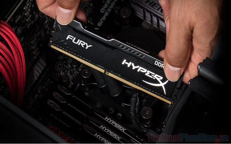 Lắp 2 thanh RAM khác BUS có chạy được không