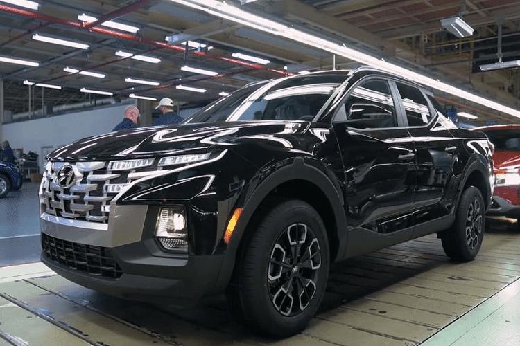Nhung chiec Hyundai Santa Cruz dau tien sap den tay khach hang