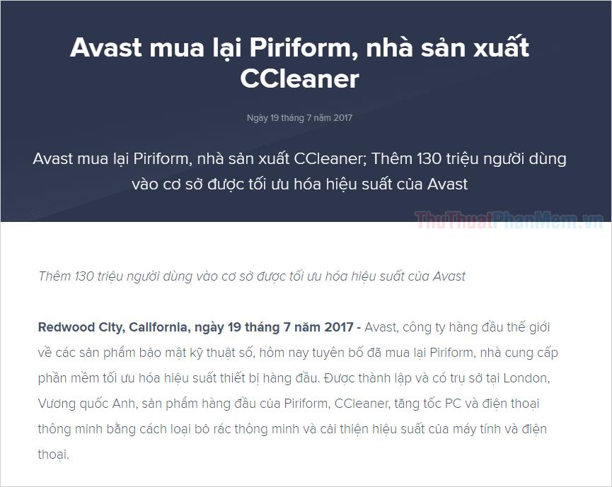 Phần mềm CCleaner tốt không, an toàn không