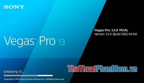 Phần mềm Sony Vegas Pro