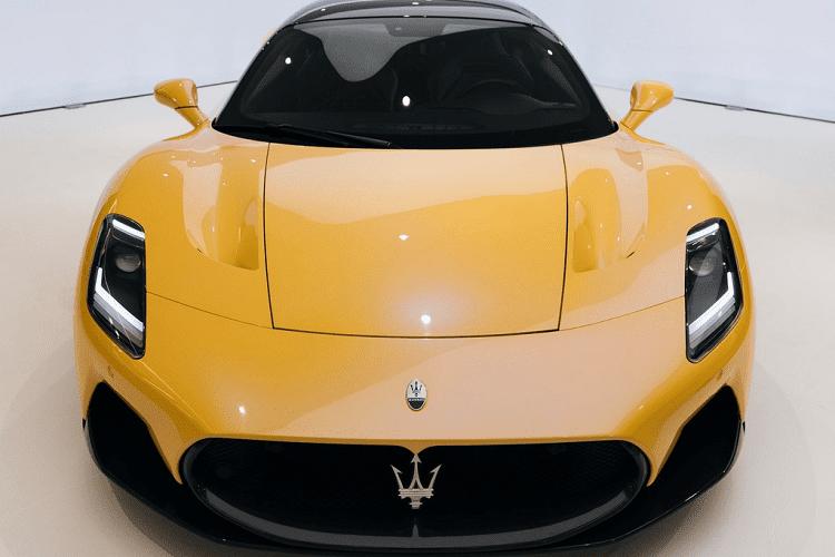 Sieu xe Maserati MC20 sap cap cang Viet Nam co gi