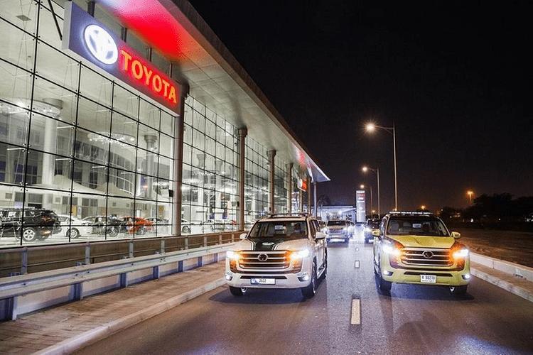 Toyota Land Cruiser 2022 vua ra mat gia nhap doi canh sat Dubai-Hinh-2