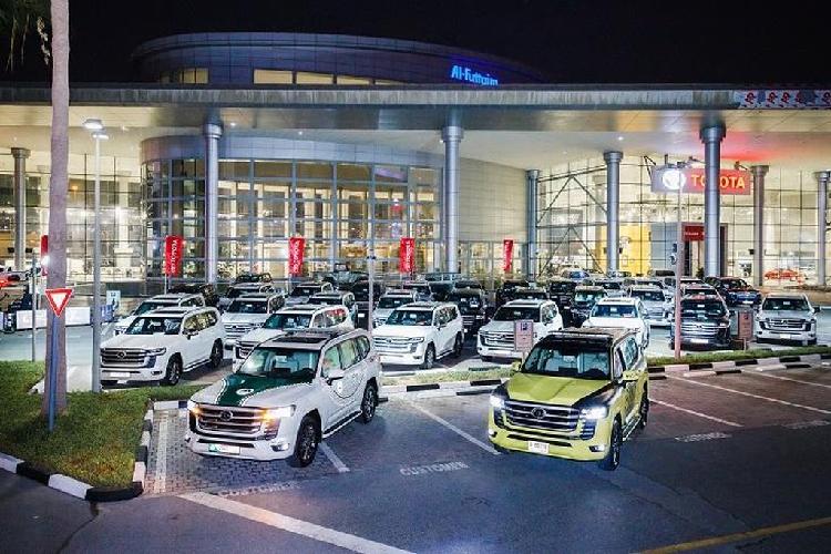Toyota Land Cruiser 2022 vua ra mat gia nhap doi canh sat Dubai