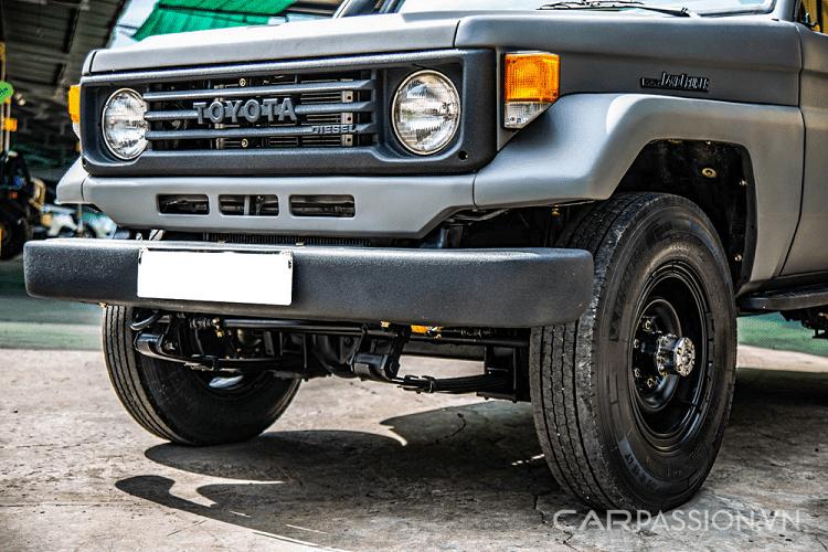 "Toyota Land Cruiser PZJ70, chiec ""Land coc"" hang hiem tai Viet Nam-Hinh-11"