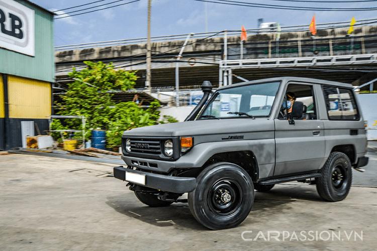 "Toyota Land Cruiser PZJ70, chiec ""Land coc"" hang hiem tai Viet Nam-Hinh-14"
