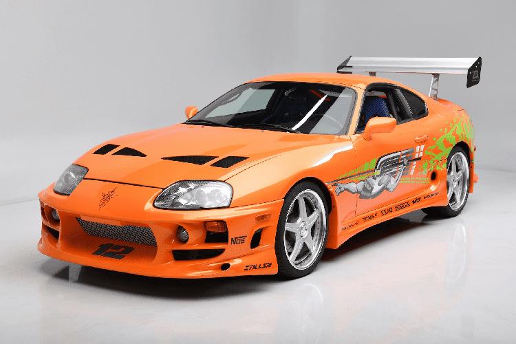 Toyota Supra huyen trong
