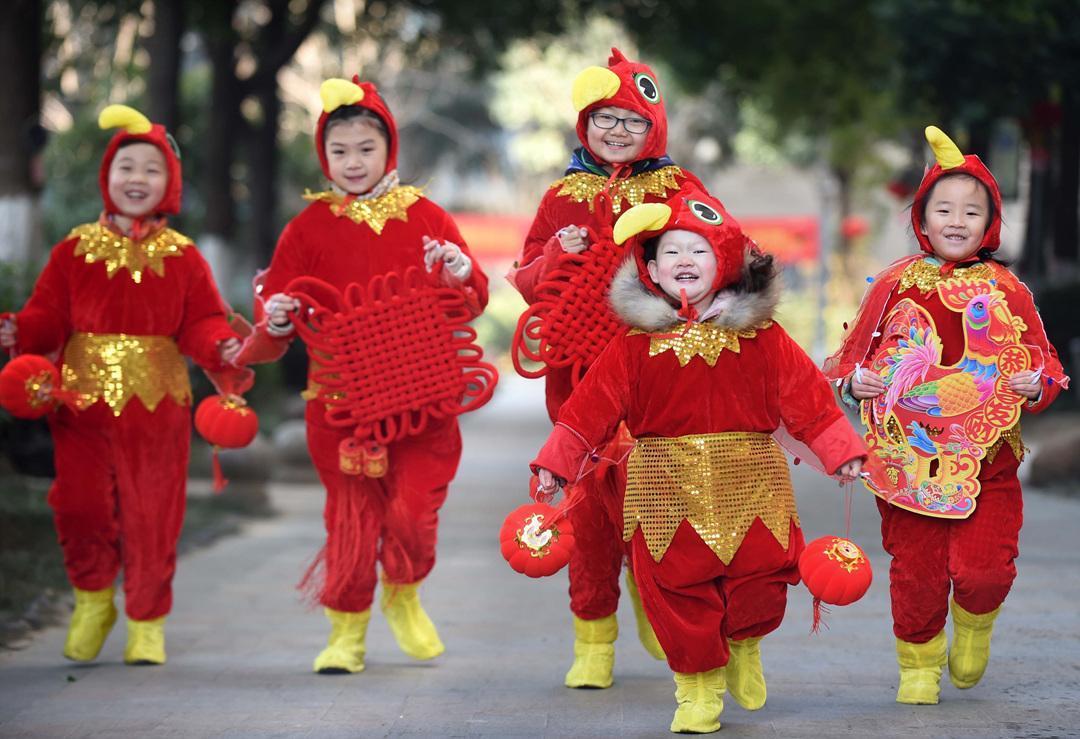 Trang phục ngày Tết ở Trung Quốc