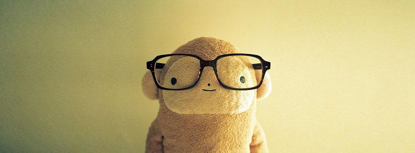 Ảnh bìa gấu bông cute