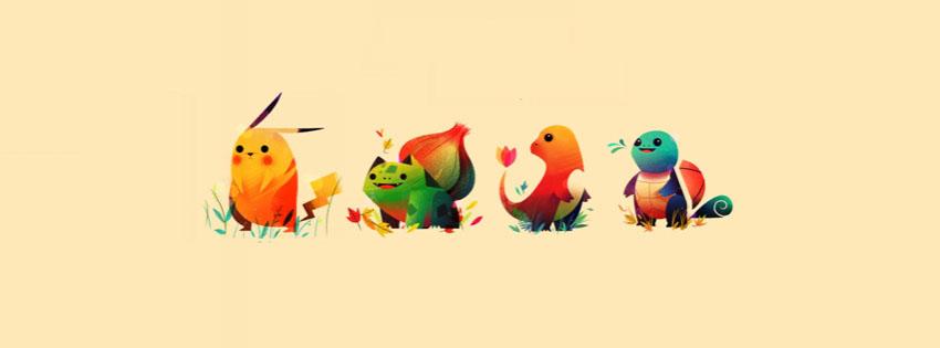 Ảnh bìa pokemon cute