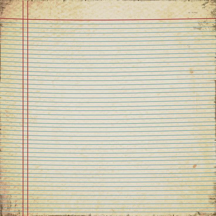 Background kẻ ngang giấy cũ