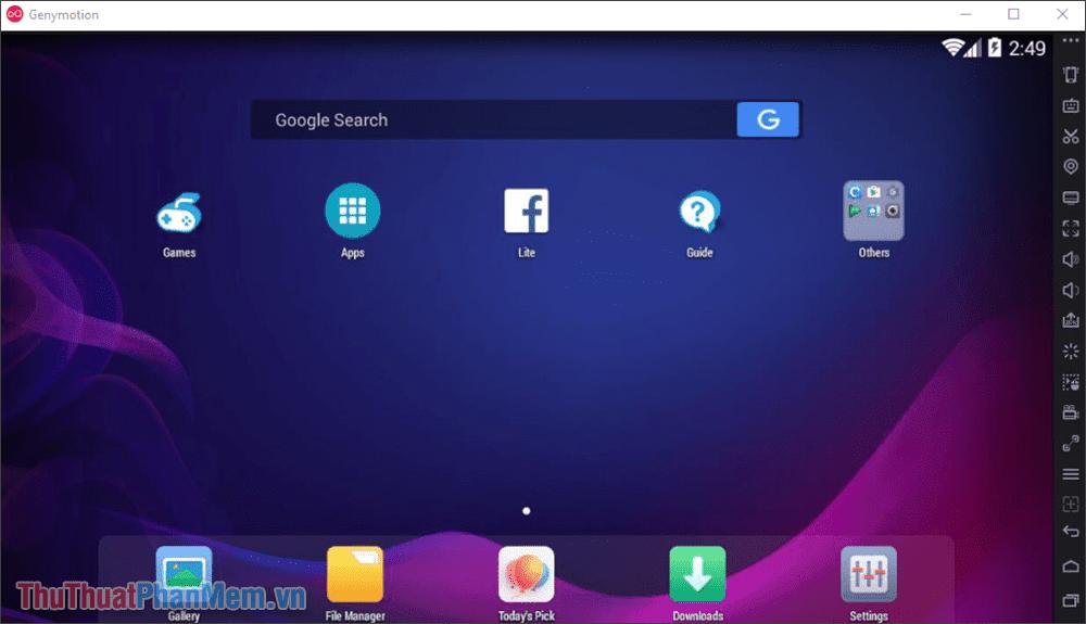 Bạn chỉ cần tải các ứng dụng cần thiết và sử dụng như thiết bị Android