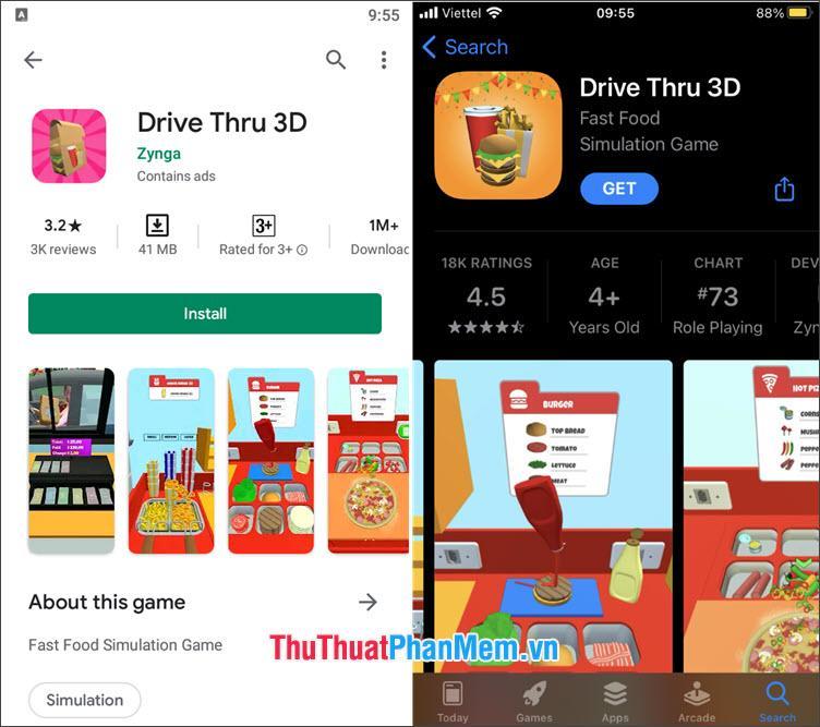 Drive Thru 3D