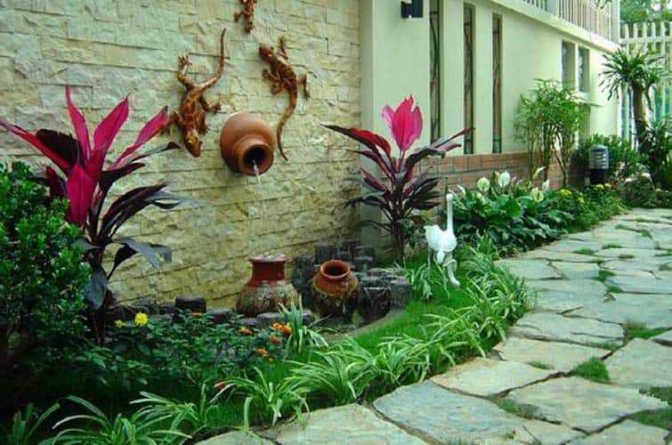 Hình ảnh tiểu cảnh sân vườn mini (27)