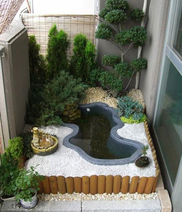 Hình ảnh tiểu cảnh vườn mini đẹp