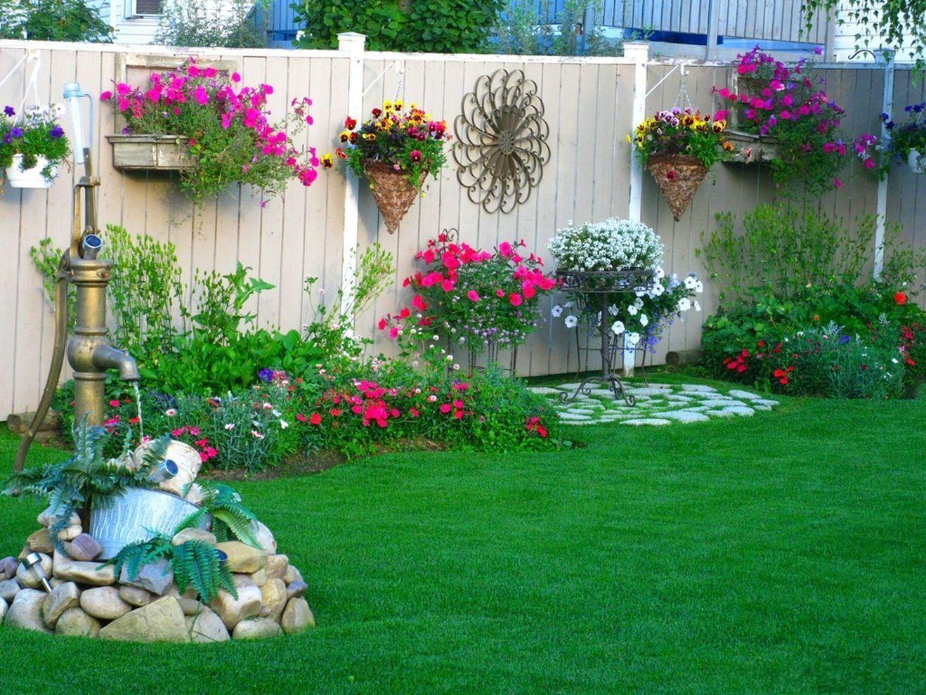 Hình ảnh tiểu cảnh vườn mini