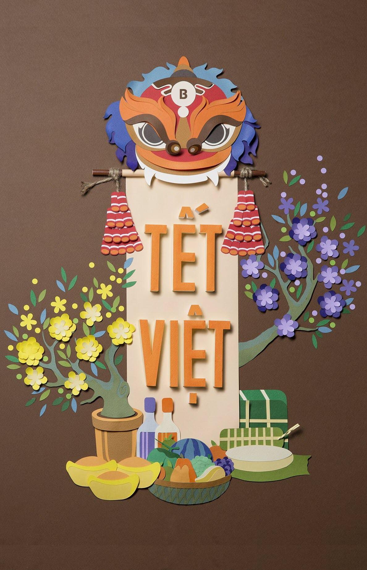 Hình nền điện thoại Tết Việt