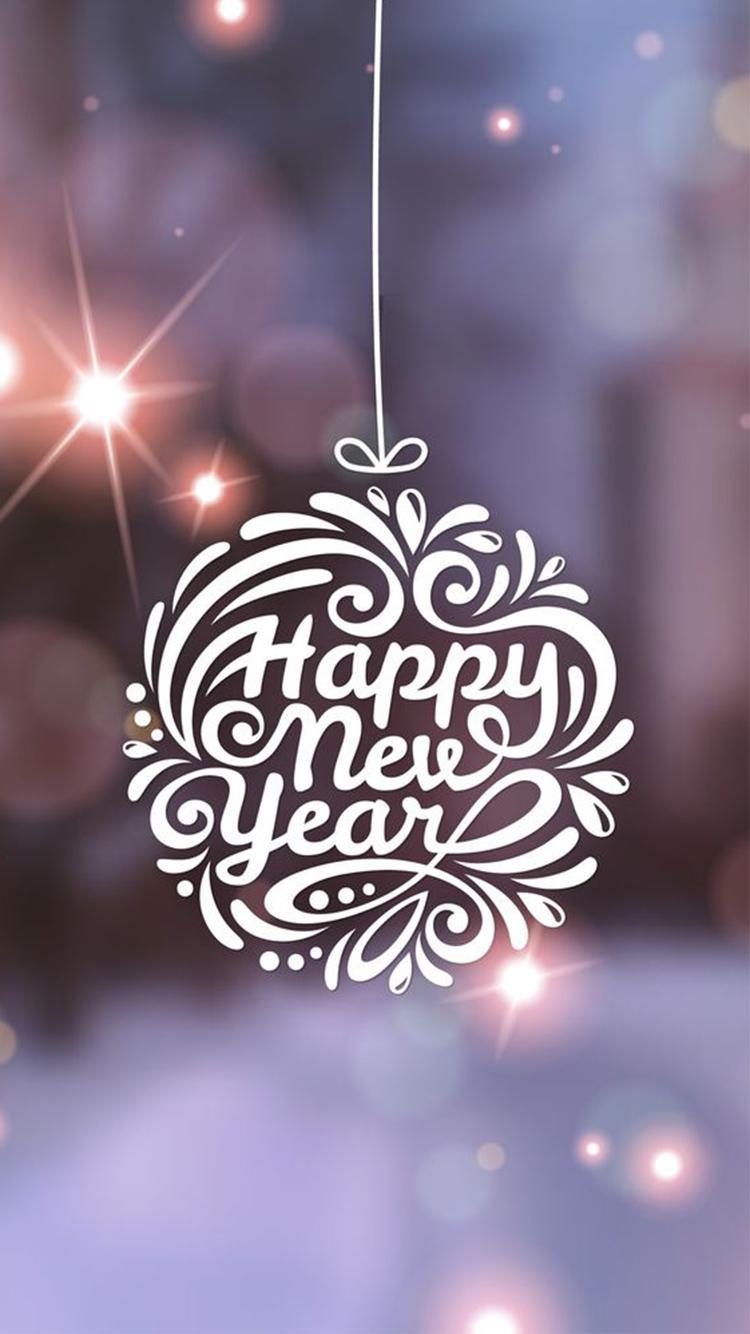 Hình nền Happy New Year cho điện thoại