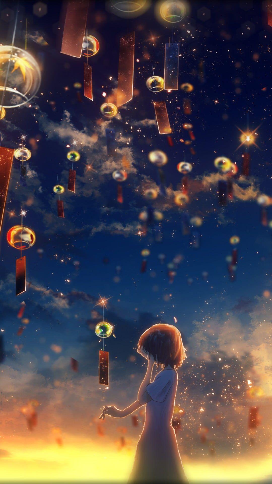 Hình nền Tết anime cho điện thoại cực đẹp