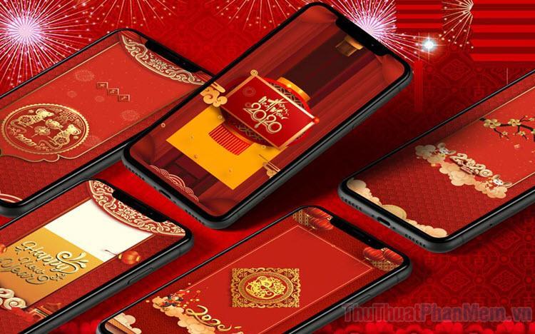 Hình nền Tết cho điện thoại cực đẹp