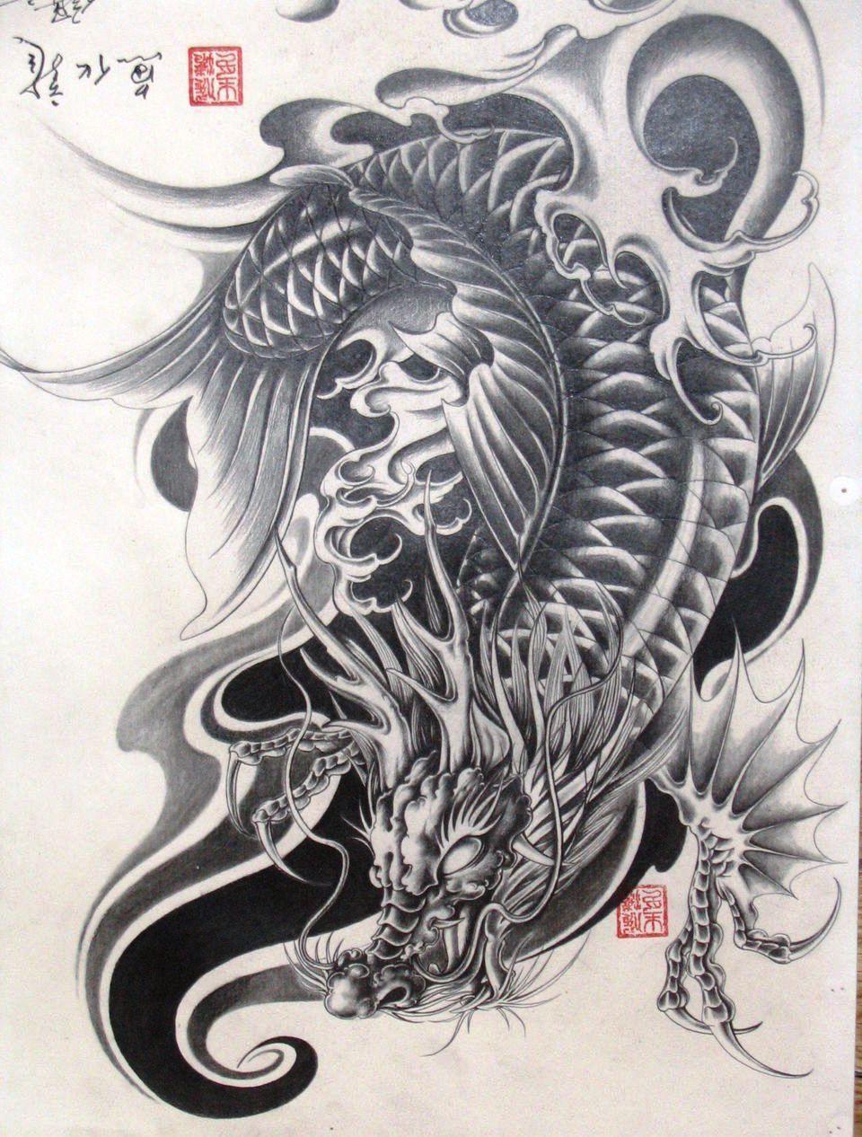 Hình xăm rồng đẹp nhất thế giới