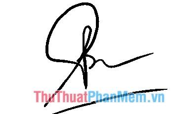 Lựa chọn thành phần cấu tạo cho chữ ký của bạn