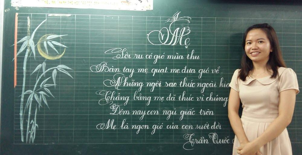 Mẫu chữ viết đẹp sáng tạo