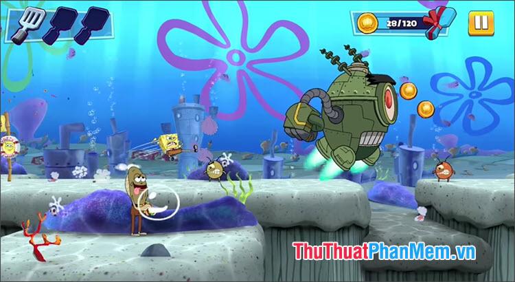 Người chơi sẽ thực hiện chuyến phiêu lưu dưới đáy biển cùng những người bạn
