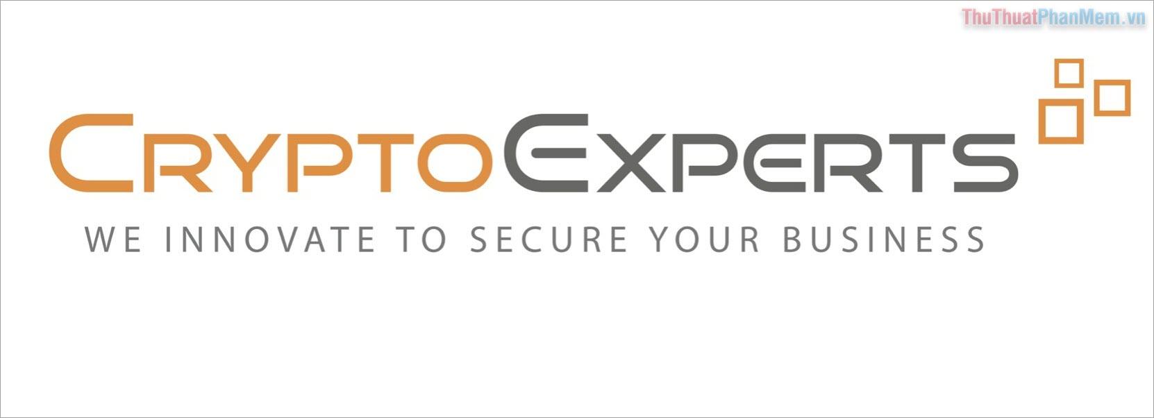Phần mềm mã hoá CryptoExpert