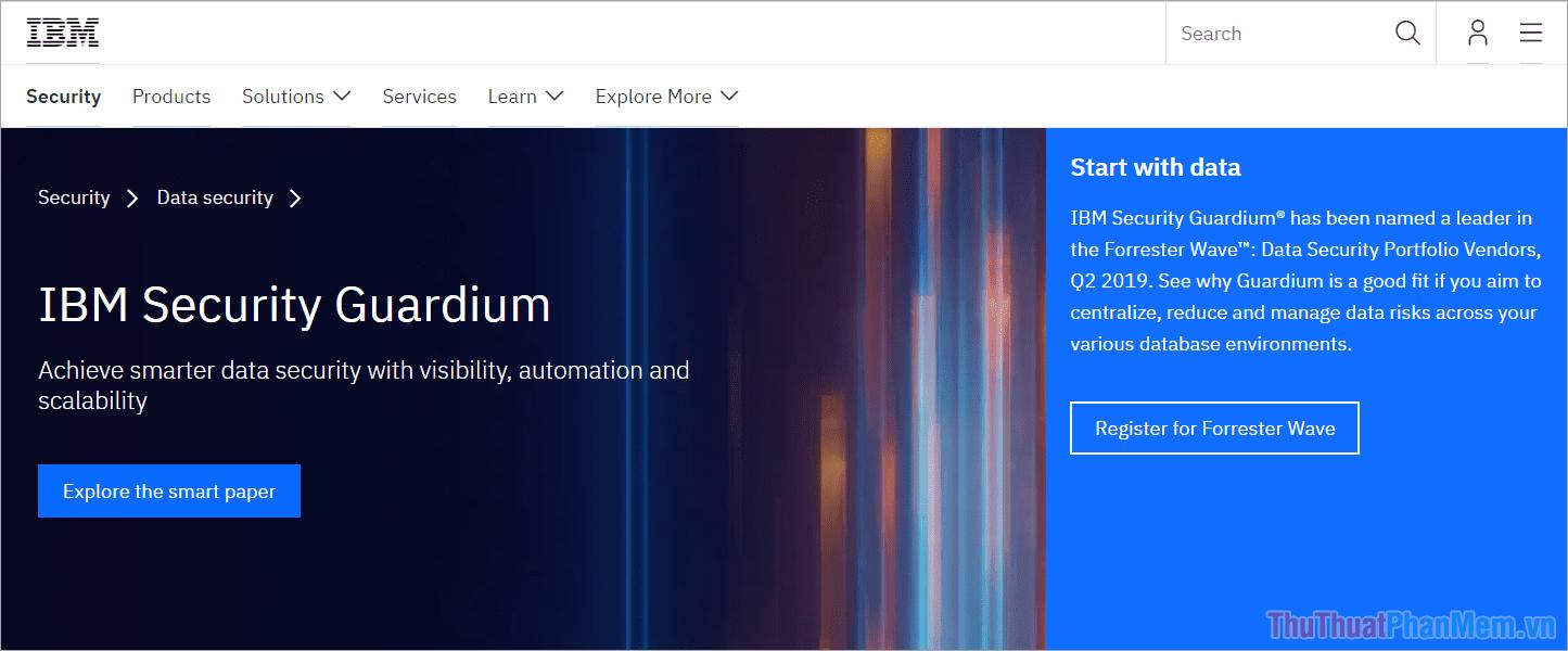 Phần mềm mã hoá IBM Guardium