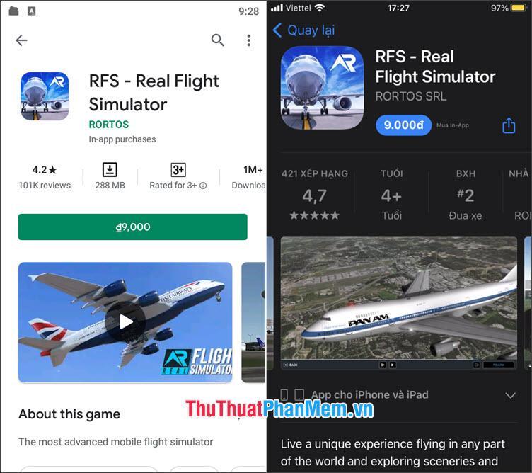 RFS- Real Flight Simulator