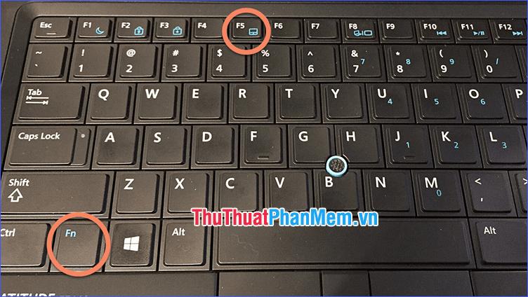 Tắt Touchpad bằng phím tắt trên bàn phím